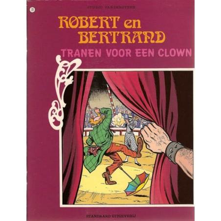 Robert en Bertrand 77 Tranen voor een clown 1e druk 1987