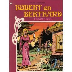 Robert en Bertrand 10 De kwade hand herdruk nieuw omslag