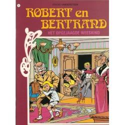 Robert en Bertrand 02 Het opgejaagde weeskind herdruk nieuw omslag