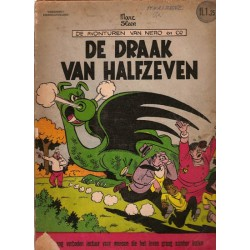 Nero ongekleurd Nederlandse serie 06% De draak van halfzeven 1e druk* 1961