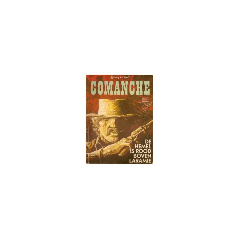 Comanche 04 - De hemel is rood boven Laramie  1e druk 1975