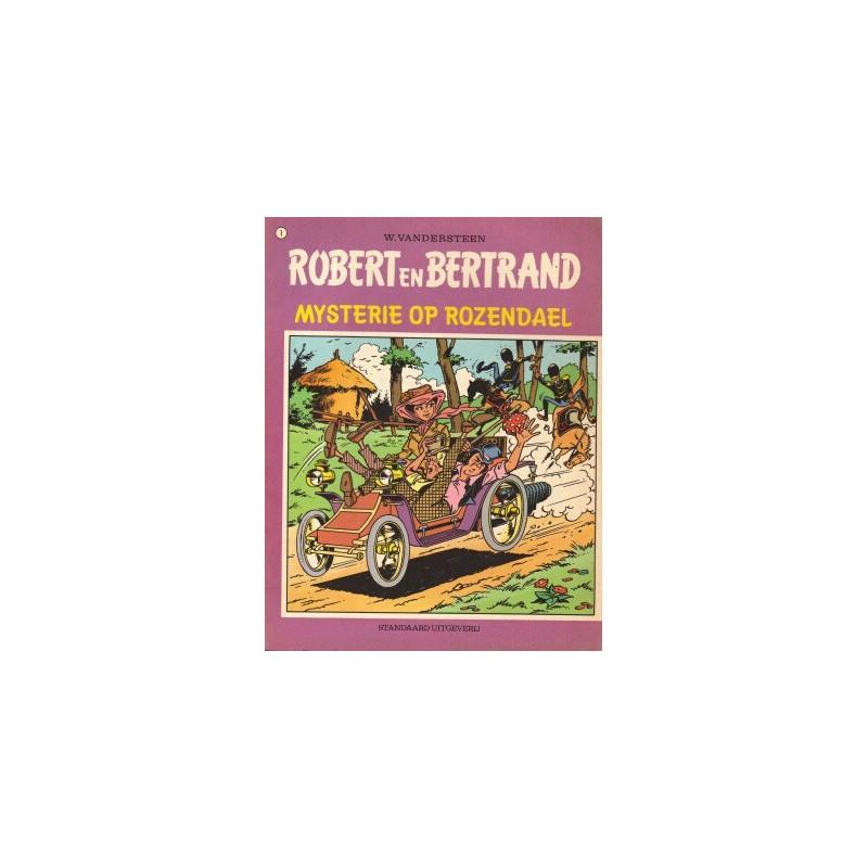 Robert en Bertrand set deel 1 t/m 8 1e drukken 1973-1975