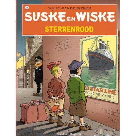 Suske & Wiske 328 Sterrenrood 1e druk 2014