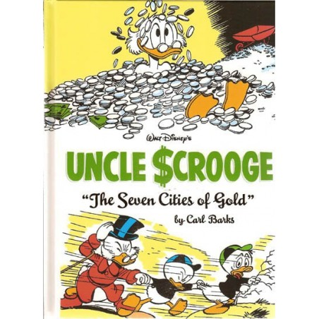 Donald Duck  Carl Barks Library 14 HC Uncle Scrooge The seven cities of gol