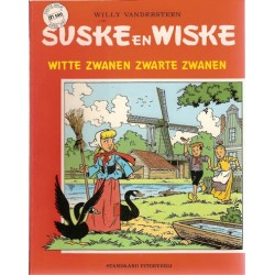 Suske & Wiske reclamealbum Witte zwanen zwarte zwanen 1e druk 1987 (Albert Heijn)