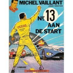Michel Vaillant 05 Nr. 13 aan de start herdruk Lombard