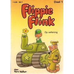 Flippie Flink pocket 01 Op oefening 1e druk 1984