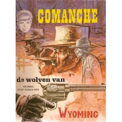 Comanche 03 De wolven van Wyoming 1e druk 1974 Helmond