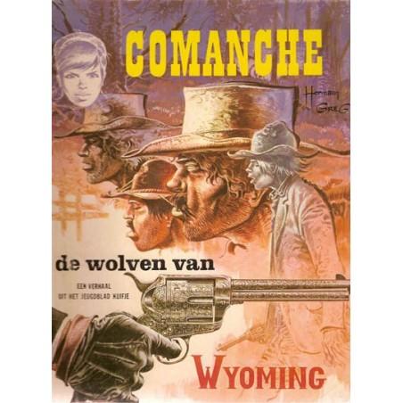 Comanche 03% De wolven van Wyoming 1e druk Helmond 1974