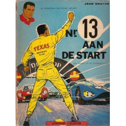 Michel Vaillant 05 Nr. 13 aan de start Lombard collectie herdruk 1965