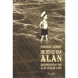 Guibert strips De jeugd van Alan Herinneringen aan Alan Ingram Cope
