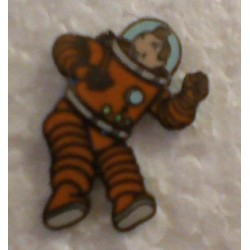 Kuifje speldje Als astronaut (Kuifje)