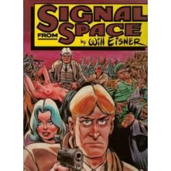 Eisner Signal from space HC 1e druk 1983 engelstalig