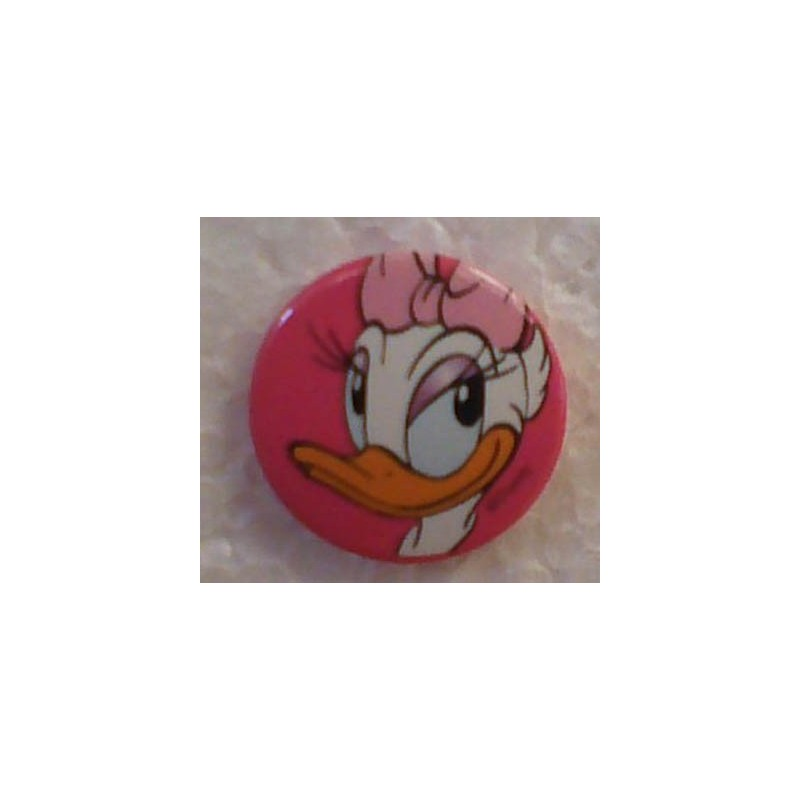 Donald Duck button Katrien