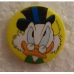 Donald Duck button Dagobert Duck