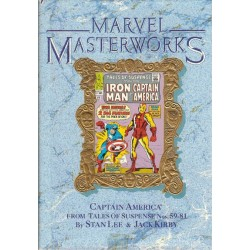 Marvel Masterworks 14 HC Captain America from Tales of Suspense 59-81 first printing 1990 Engelstalig