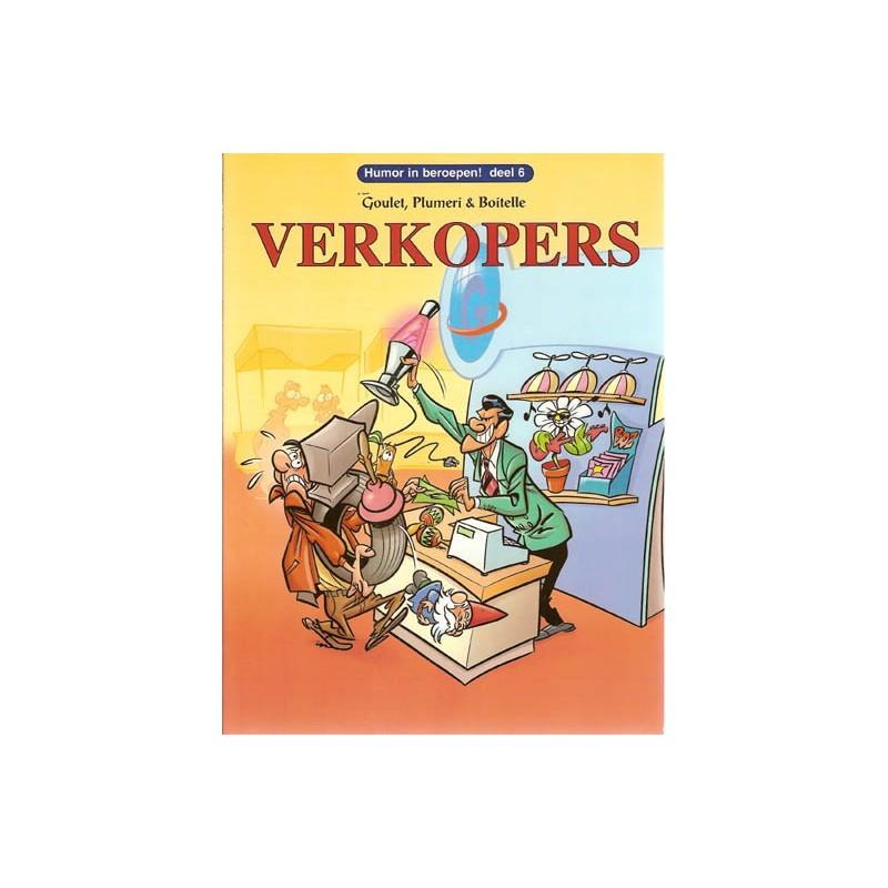 Humor in beroepen 06 Verkopers