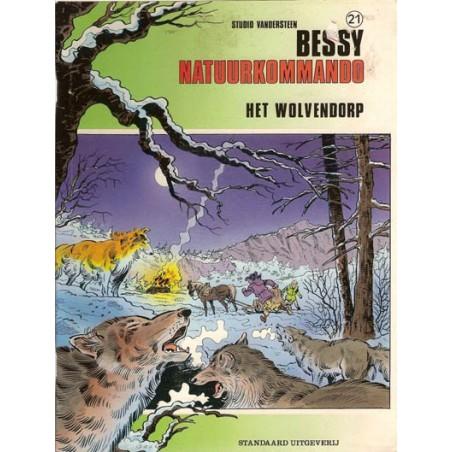 Bessy Natuurkommando 21 Het wolvendorp 1e druk 1991