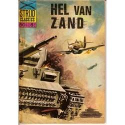 Strijdclassics 1106<br>Hel van zand<br>1e druk 1965 (plakband)