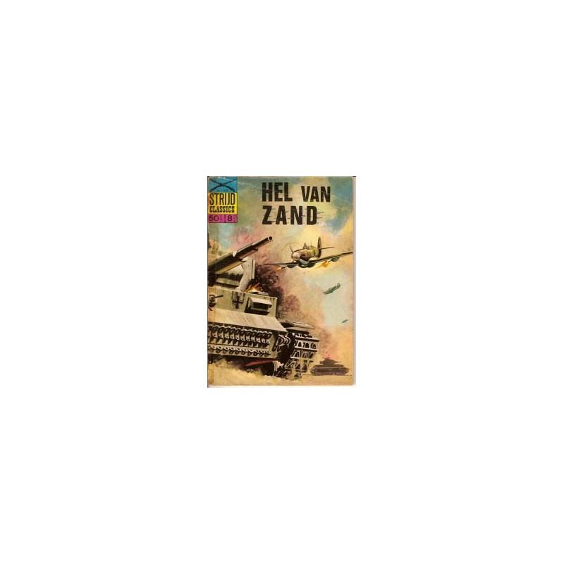 Strijdclassics 1106 Hel van zand 1e druk 1965 (plakband)