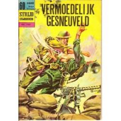 Strijdclassics 1107<br>Vermoedelijk gesneuveld<br>herdruk 1970
