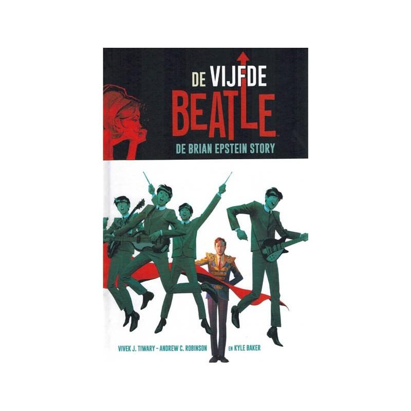 Beatles  strips HC De vijfde Beatle – De Brian Epstein story