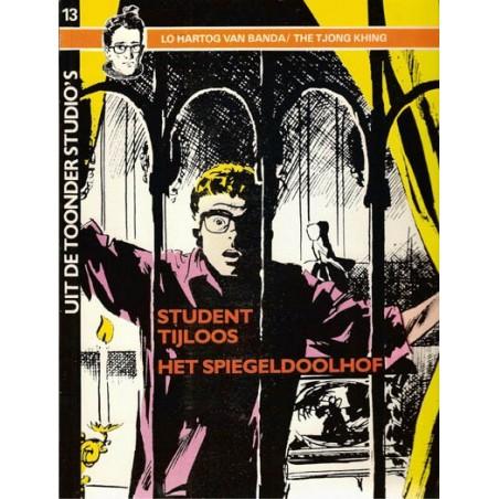 Uit de Toonder Studio's set Student Tijloos deel 1 t/m 5 1e drukken 1983-1988