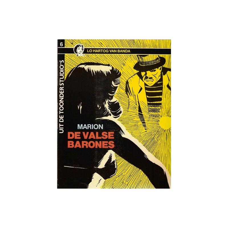 Uit de Toonder Studio's set Marion deel 1 t/m 3 1e druk 1983-1986