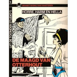 Uit de Toonder Studio's set Horre, Harm en Hella deel 1 t/m 3 1e drukken 1983-1985