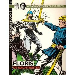 Uit de Toonder Studio's 11 Floris De nachtruiter 1e druk 1985