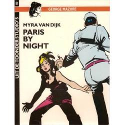 Uit de Toonder Studio's 08 Myra van Dijk Paris by night 1e druk 1984