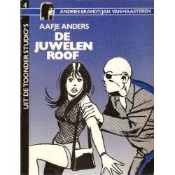 Uit de Toonder Studio's 04 Aafje Anders De juwelenroof 1e druk 1983