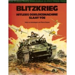 Tweede oorlog in strip set deel 1 t/m 8 1e drukken 1975-1980