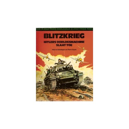 Tweede Wereldoorlog in strip set deel 1 t/m 8 1e drukken 1975-1980
