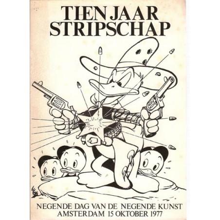 Stripdag Amsterdam Tien jaar Stripschap De negende dag van het beeldverhaal 1977