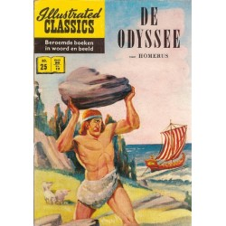 Illustrated Classics 25 De Odyssee herdruk (naar Homerus) herdruk