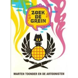Heer Bommel Zoek de Grein Marten Toonder en de artoonisten 1e druk 2002 (Tom Poes)