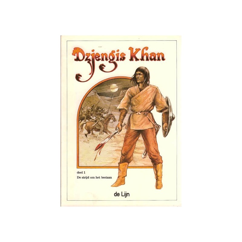 Dzjengis Khan set De strijd om het bestaan 1 & 2 1e druk 1983