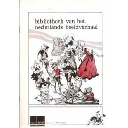 Bibliotheek van het Nederlandse beeldverhaal Piet Wijn stripschapsprijs 1984 brochure 1e druk 1984