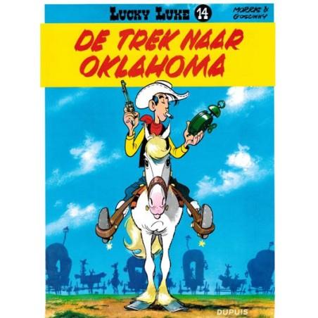 Lucky Luke  I 14 De trek naar Oklahoma