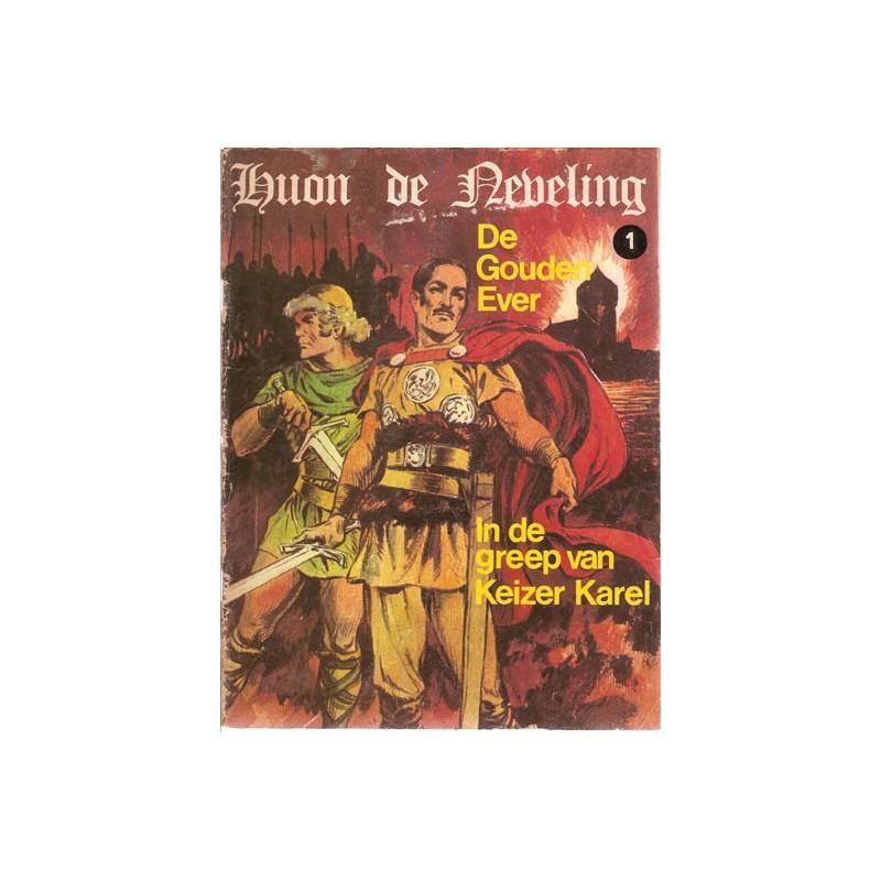 Huon de Neveling set deel 1 t/m 9 + Zwart-wit reeks 1e drukken 1974-1981 (11 delen)