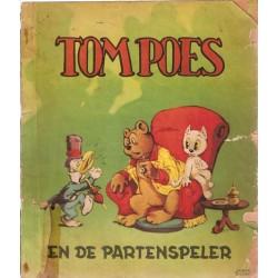 Tom Poes M05% De Partenspeler 1e druk 1952 (Heer Bommel)