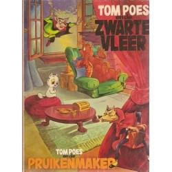 Tom Poes Ballonstrip De Zwarte Vleer & De Pruikenmaker 1e druk 1970 (Heer Bommel)