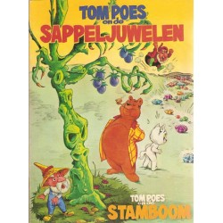 Tom Poes Ballonstrip De Sappeljuwelen & De Stamboom 1e druk 1970 (Heer Bommel)