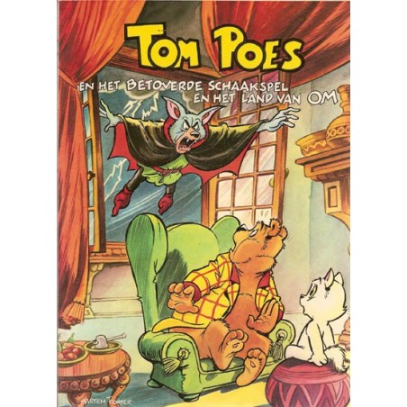 Tom Poes Ballonstrip 20 Het betoverde schaakspel 1e druk 1981 (Heer Bommel)