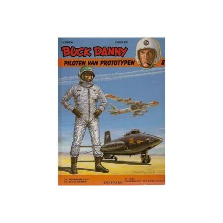 Buck Danny Bundeling 08: Piloten van prototypen HC