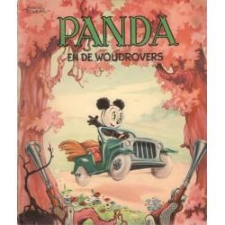 Panda M04 De woudrovers 1e druk 1953