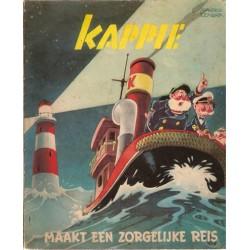 Kappie M04 Maakt een zorgelijke reis 1e druk 1953 (met titellijst)