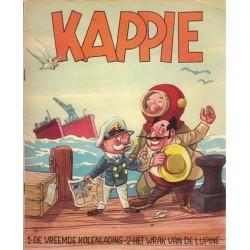 Kappie C03 De vreemde Kolenlading / Het wrak van de Lupine 1e druk 1958