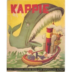 Kappie C02 Het mysterie van de Ijszee 1e druk 1957